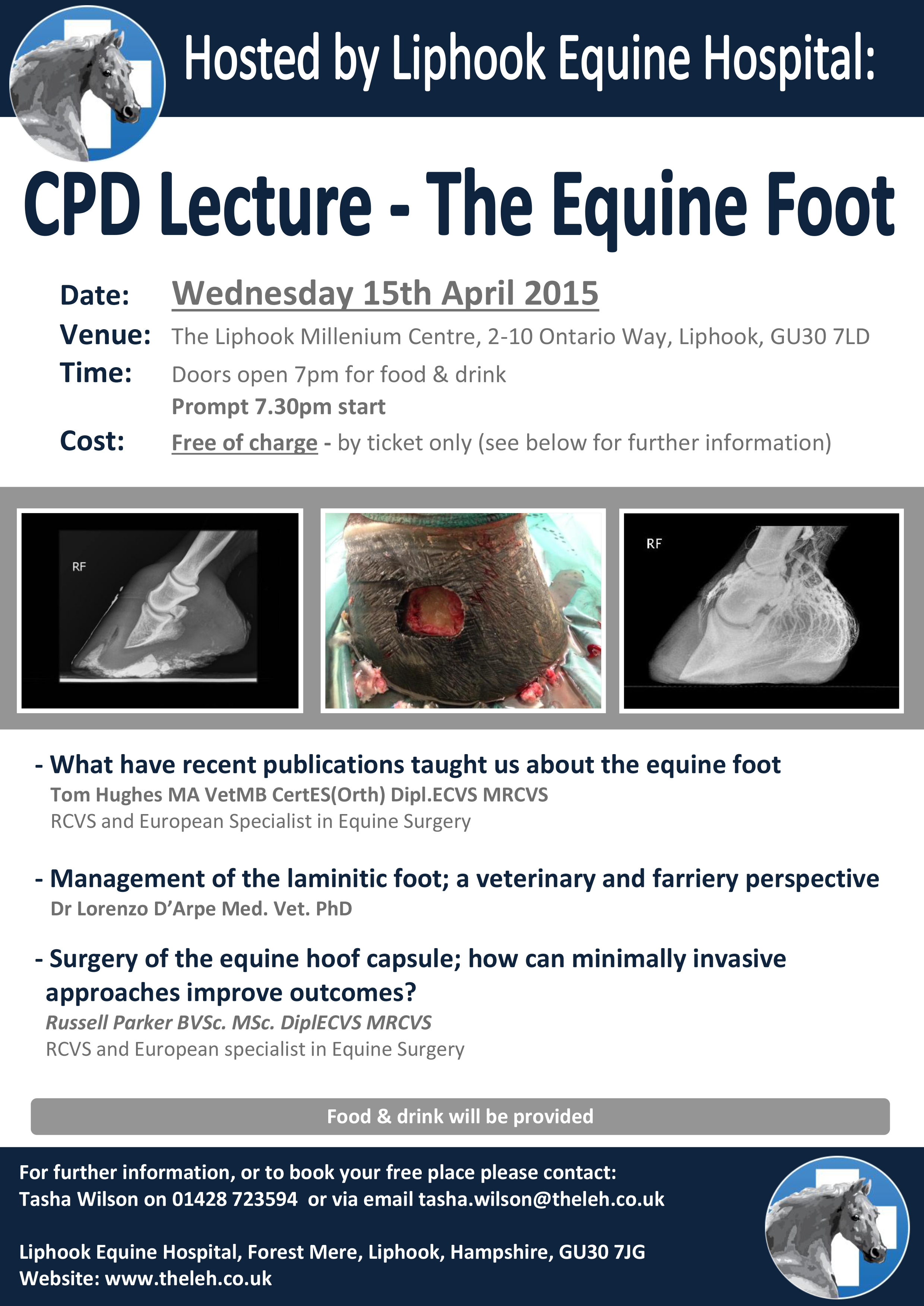 vets and farriers meeting cpd   wednesday 15th april 2015