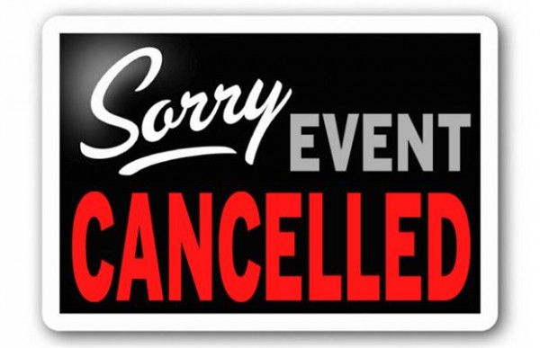 Poker-Tournament-Cancelled