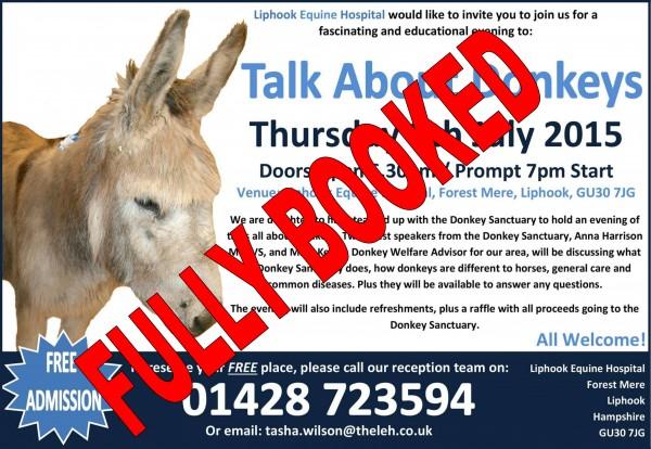 donkey- fully booked